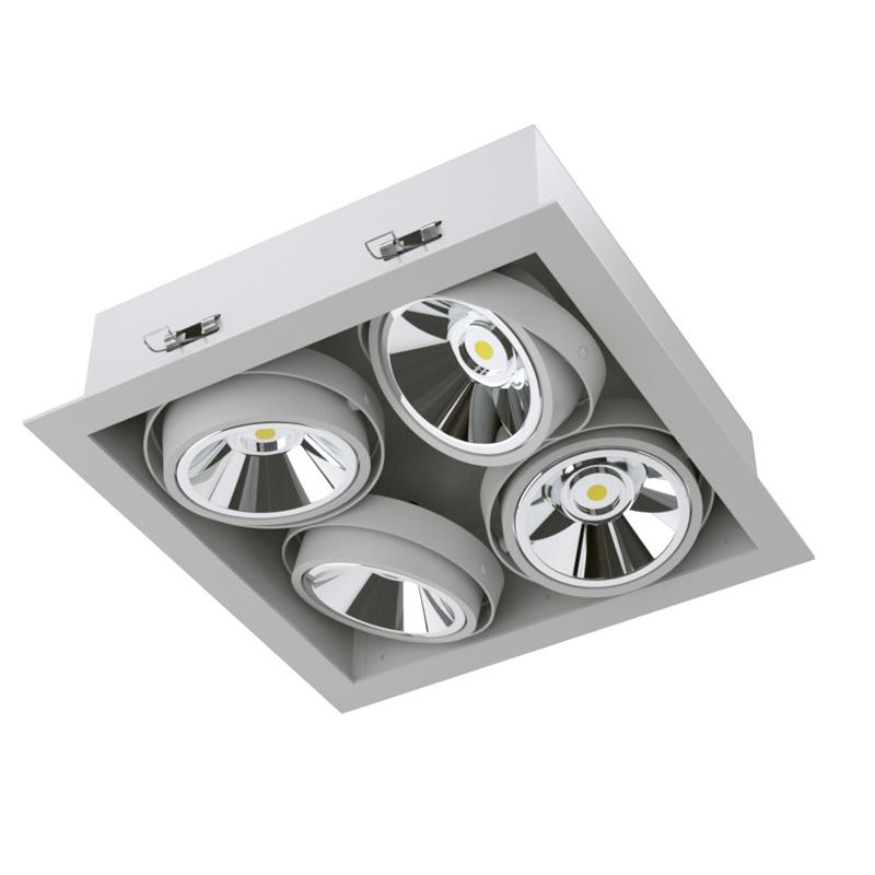 Карданный светодиодный встраиваемый светильник SOFIT